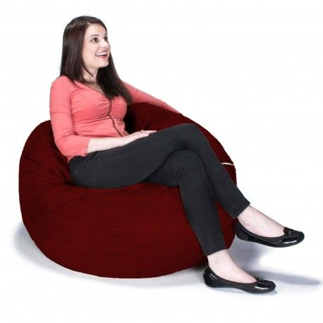 Round Bean Bag Chair Saxx Is A Built For One That Does Not Sacrifice Any Of The Inherent Qualities Its Huge Brothers