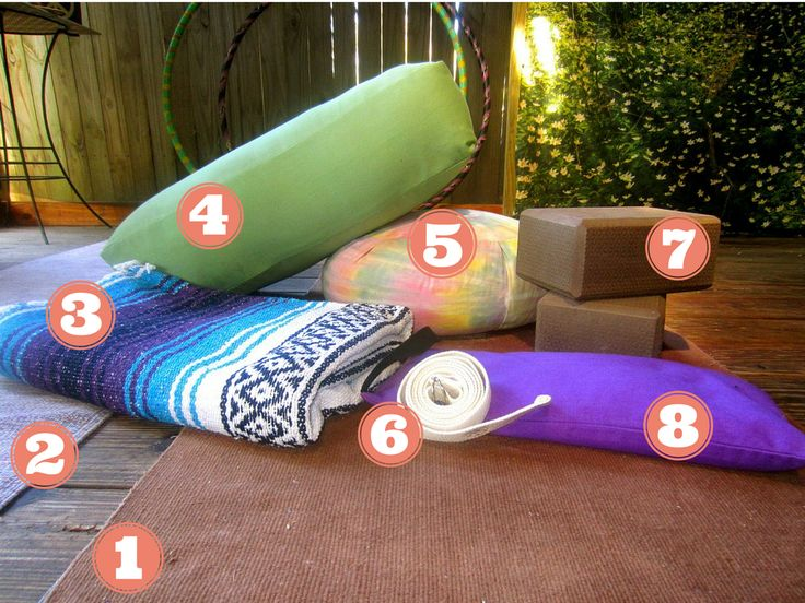 How to create your own yoga space