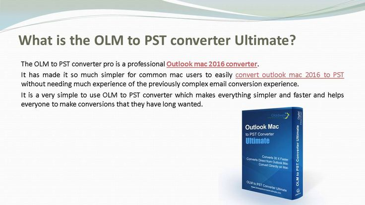 Converting multiple OLM files to PST is possible as a batch upload process in the latest version of #outlook2016 mac export pst Ultimate.