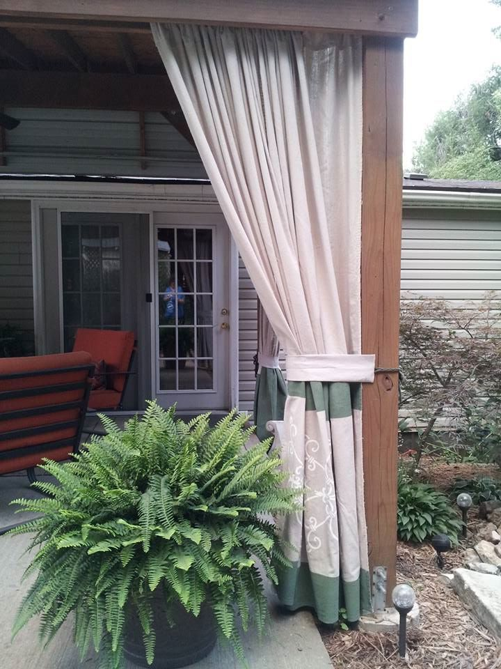 30 Best Outdoor Curtains Images On Pinterest Lowes Canvases And Home Depot