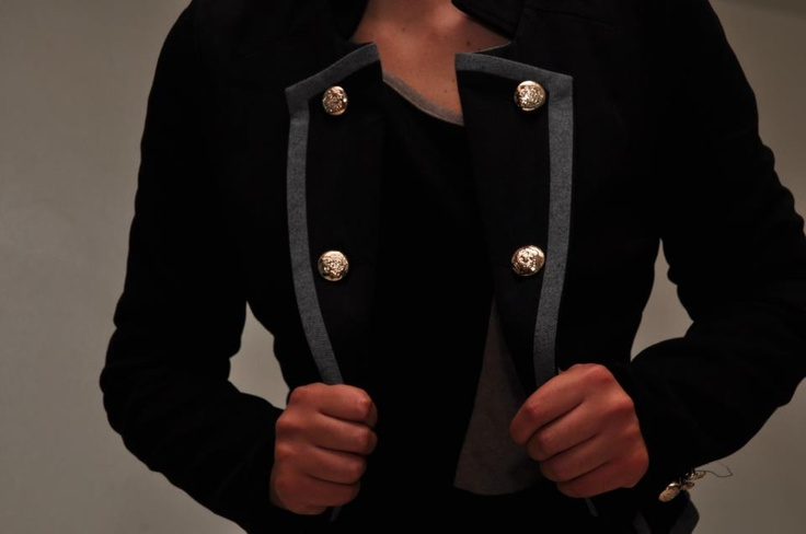 black jacket also available cream