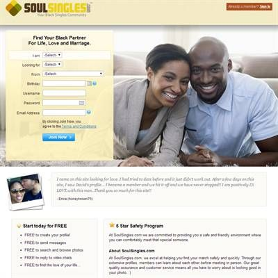 Soul Singles Reviews | Best Free Black Dating Sites