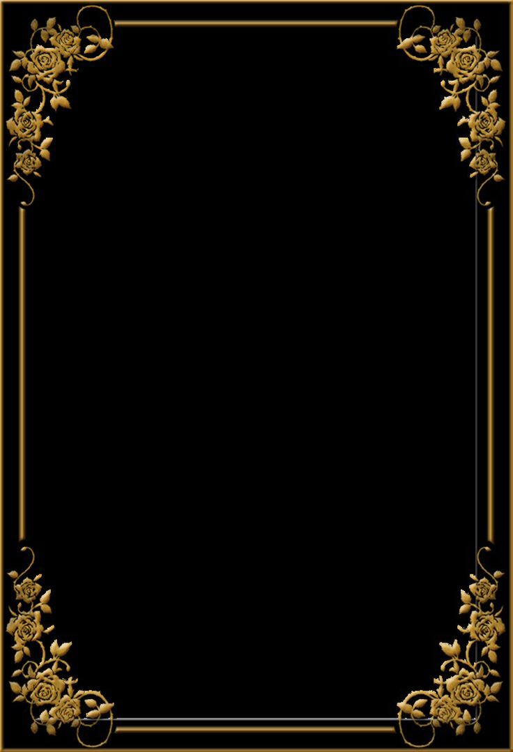 Elegant Frame Black Gold Collection 14 Wallpapers