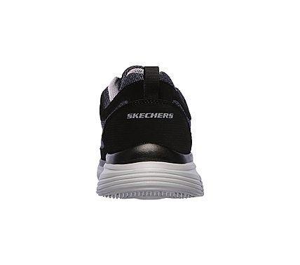 Skechers Men's Burns Agoura Memory Foam Training Shoes (Black/Gray)