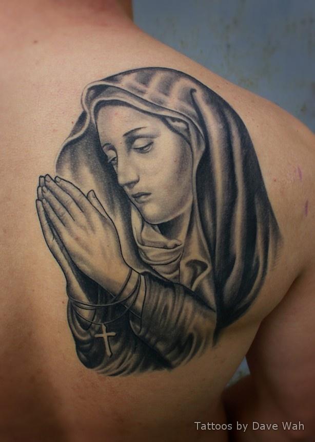 Ryans Virgin Mary Tattoo Virgin Mary Tattoos Mary Tattoo