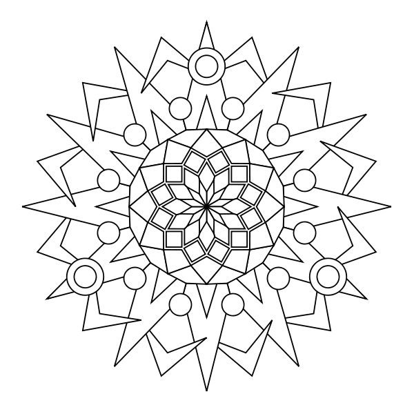 Abstract Circle Coloring Pages : Best images about quilt pantographs on pinterest
