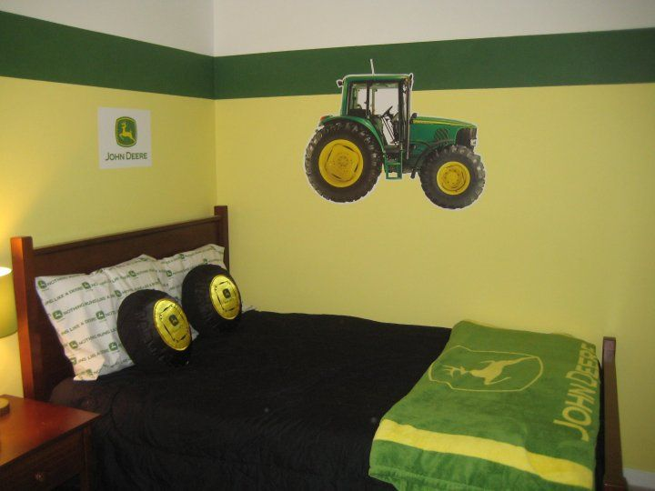 Attractive Simple Paint Colors But I Like For The Boys Room Or Rooms John Deere  Toddler Ideas