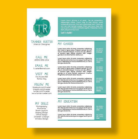 25 best Career images on Pinterest Creative curriculum, Design - resume references page