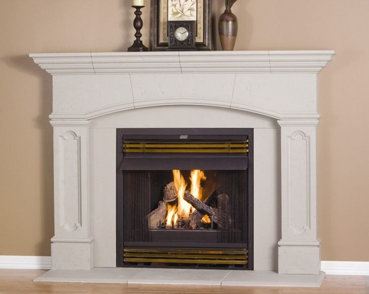Nice Fireplace Mantel Kits Decoration Ideas For Beautiful Interior: Modern Fireplace  Mantel Kits With Candles Classic