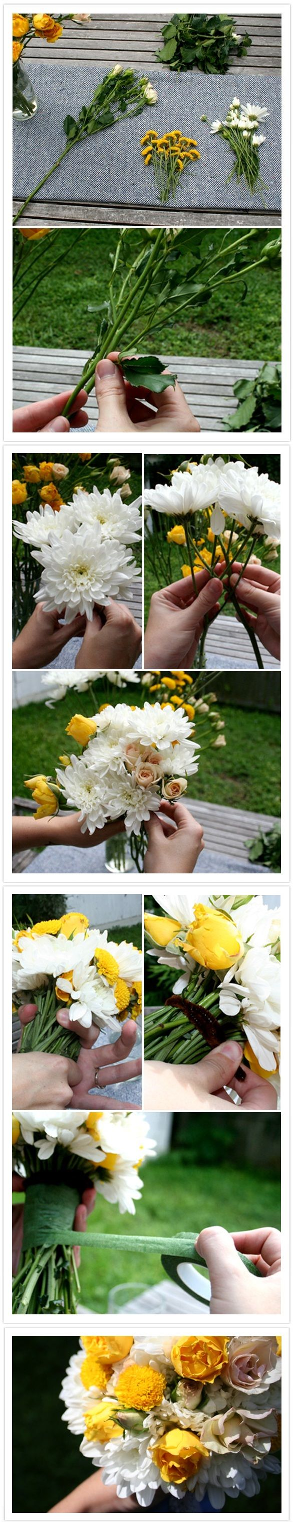 Top 10 Unique DIY Wedding Bouquets