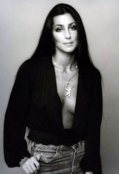 Cher - always a beauty and always will be.  Super singer and actress.  Beautiful son Elijah Blue...plays just like his dad.