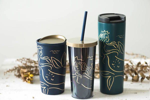 Starbucks Celebrates Anniversary With Elegant Siren-Themed Special Collection