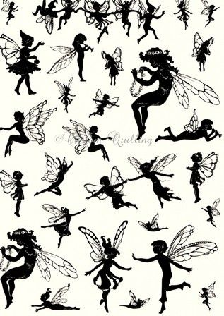 Fairies Silhouette