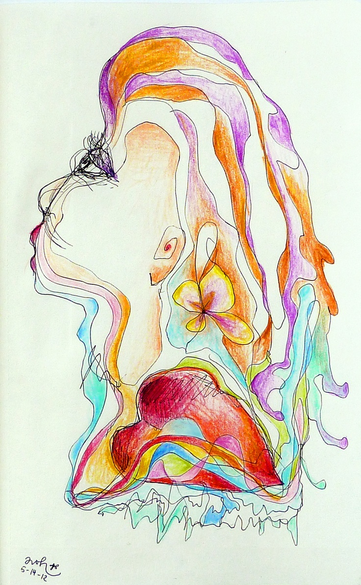 Personal Channeled Drawing for a Singer. Get your own channeled drawing for personal guidance here www.lifesparklinks.com