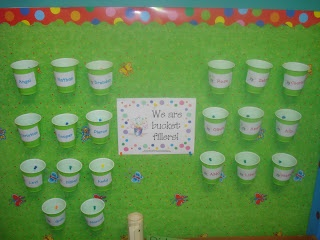 Mrs. Kimbrell's Kindergarten: Have you filled a bucket today?