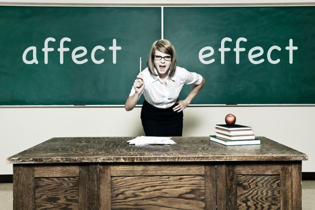 """affect"" does not equal ""effect"""