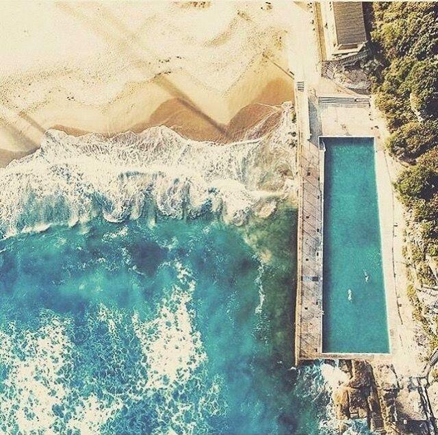 Queenscliff pool near Manly beach, Australia.