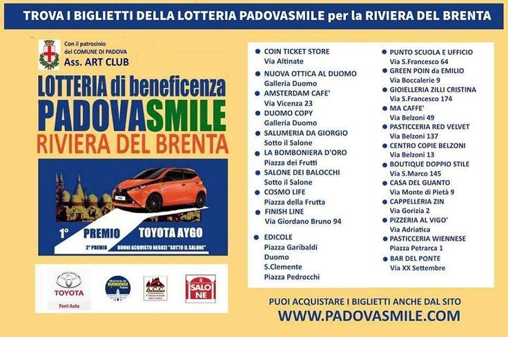 Nuova offerta: Lotteria di beneficenza Padova Smile - ACC Padova
