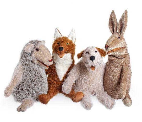 #handpuppen #barleben #handmade #playing #handpuppet Diese großen, kuscheligen Tiere eignen sich wunderbar zum Geschichten erzählen und spielen. Sie sind liebevoll handgemacht und mit einem ganz eigenen Charakter ausgestattet.  55 cm