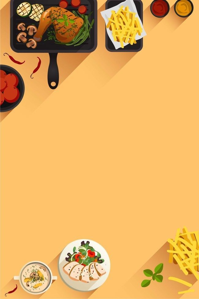 Background Background Background Food Backgroundfood Simple Flat Hand Painted Poste In 2020 Food Festival Poster Food Background Wallpapers Restaurant Poster