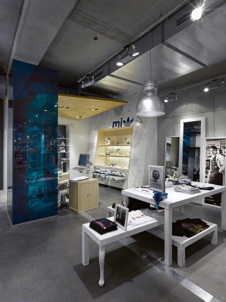 Adidas Originals Concept Store Berlin Design