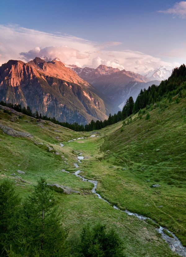 Swiss Alps Escape by Jon Reid / Three days in Belalp / Belalp is a ski resort in the Swiss Alps. Whilst popular in the winter months, the area is deserted over summer, making it the ideal location to escape and enjoy some of the finest scenery The Alps have to offer.