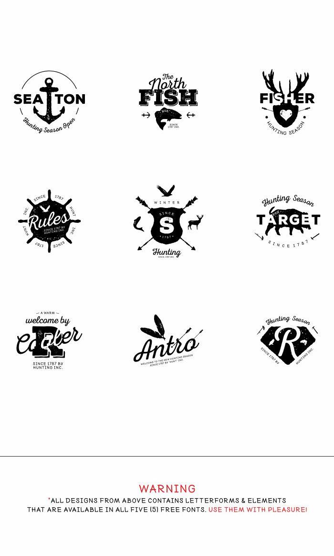 Logo build using Nexa font family. SIMPLE yet ELEGANT