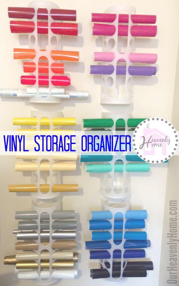 Vinyl Storage Bag Holders Craft Rooms Pinterest