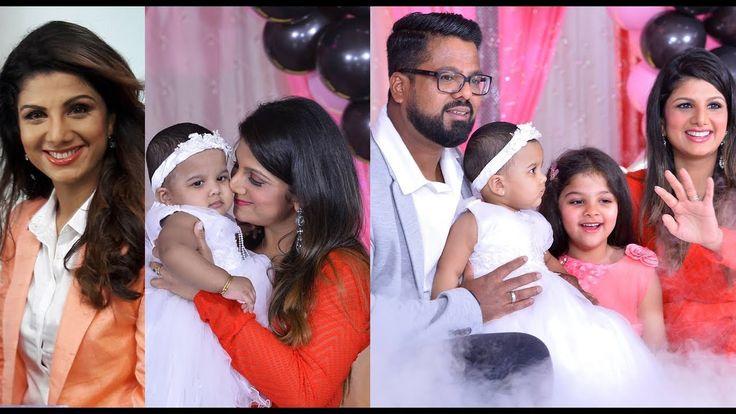 Actress Rambha Family Photos with Husband & Daughters - 2017