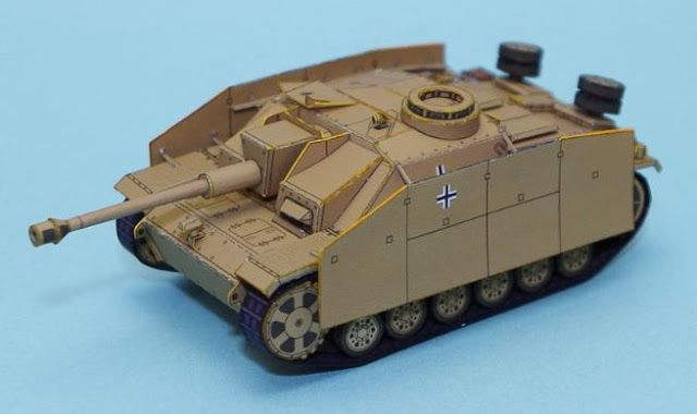 Paper Craft Jagdpanzer Iv