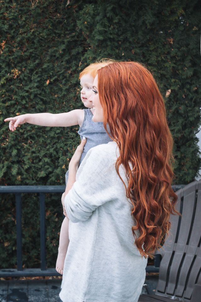How I get stronger, healthier hair with @Moroccanoil! From a mama of five babies in five years:) #ArganEveryday #MustHave #ad #Love: