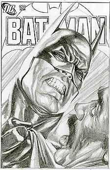 Batman by Alex Ross. Discover The Secrets Of Drawing Realistic Pencil Portraits... http://pencil-portrait-mastery-today.blogspot.com?prod=dtBr9eeM