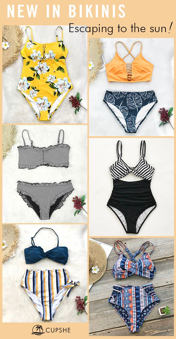 New Arrivals! Get a look and make waves at the beach.