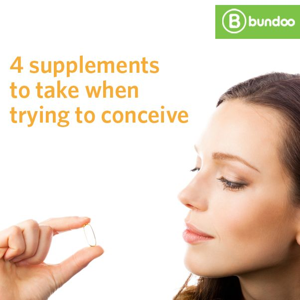 Thinking of adding a new member to your family? It's a good idea to ensure you're getting adequate nutrition even before getting pregnant. Learn about 4 supplements you should be taking when trying to conceive.