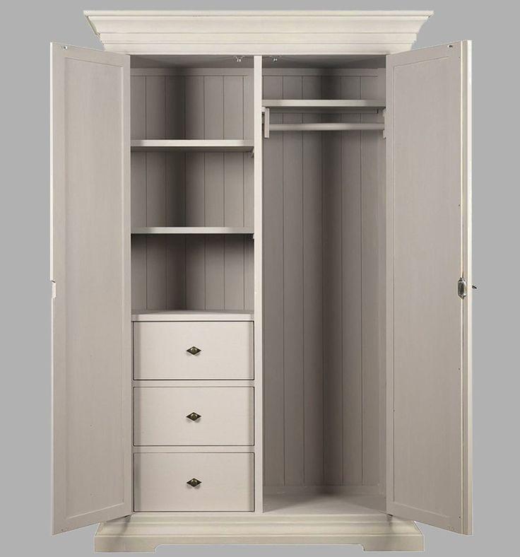 Las 25 mejores ideas sobre peque os armarios roperos en - Muebles armarios roperos ...