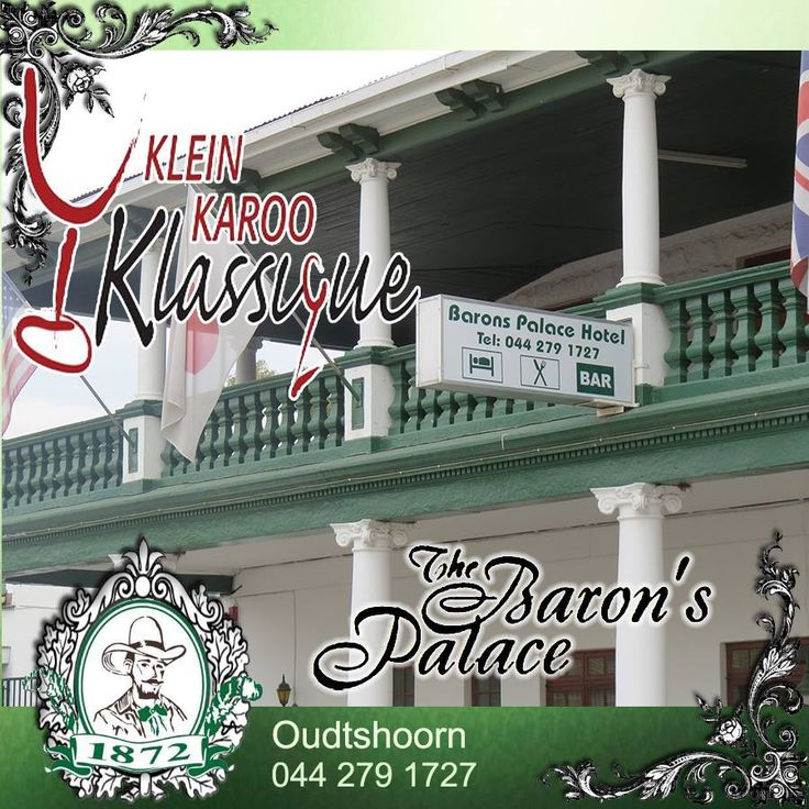 Have you made your reservations for accommodation during next months Klein Karoo Klassique? Contact us to find out about availability of rooms and suites. #accommodation #venues #oudtshoorn
