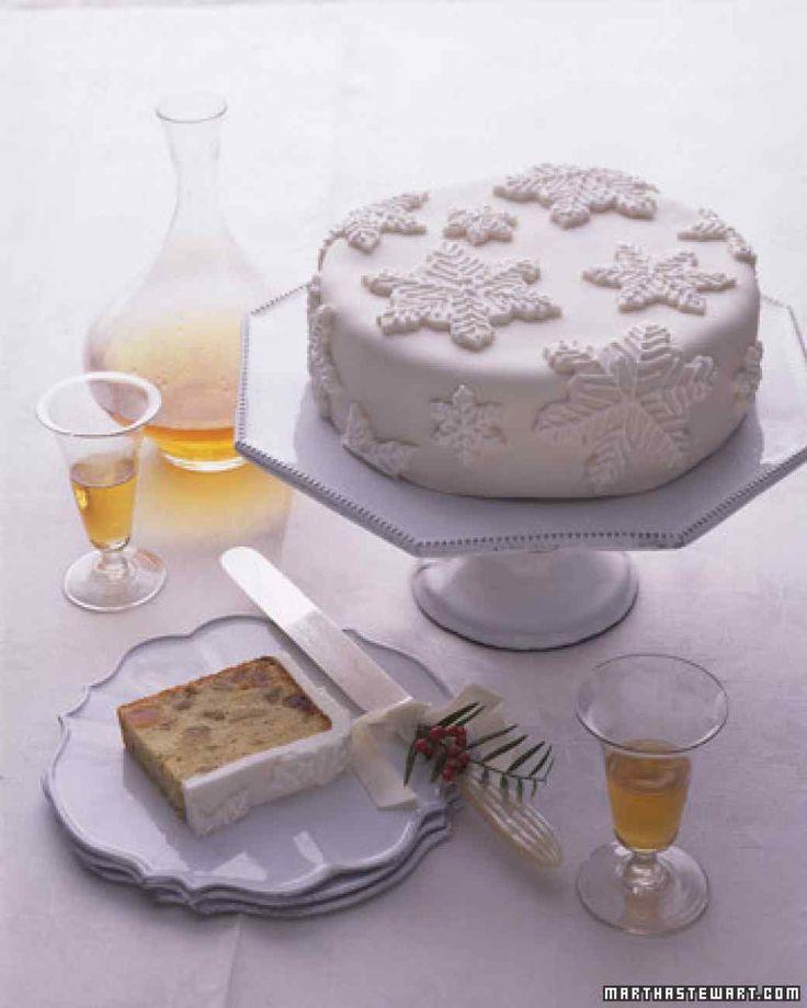 Snow-Capped Fruitcake