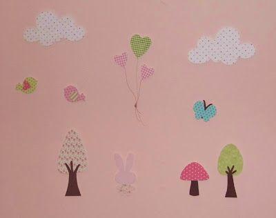 Κορίτσια Για Σπίτι: πώς να φτιάξετε εύκολα υφασμάτινα διακοσμητικά τοίχου