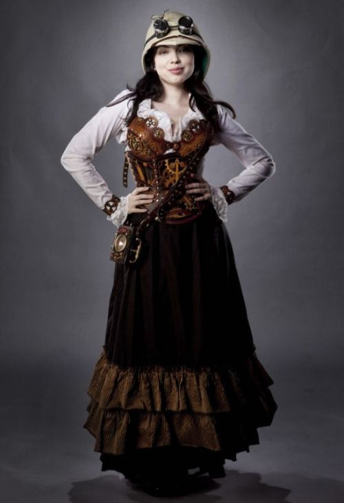 1091 best steampunk clothing female images on pinterest steampunk fashion steampunk. Black Bedroom Furniture Sets. Home Design Ideas