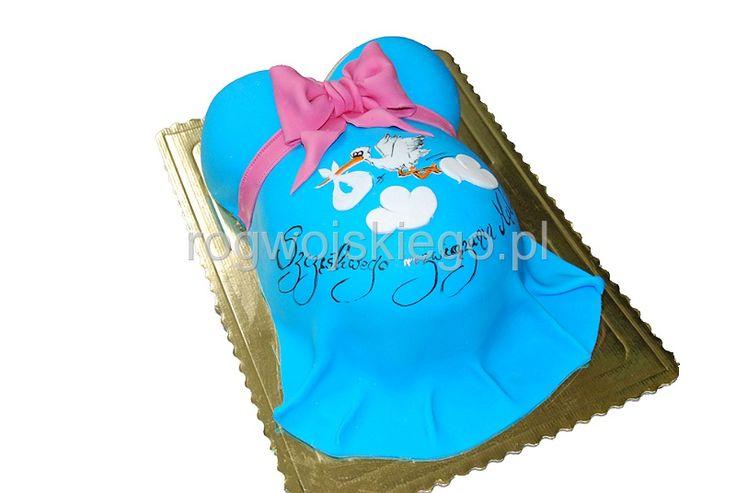 Tort na Baby Shower, Baby Shower cake