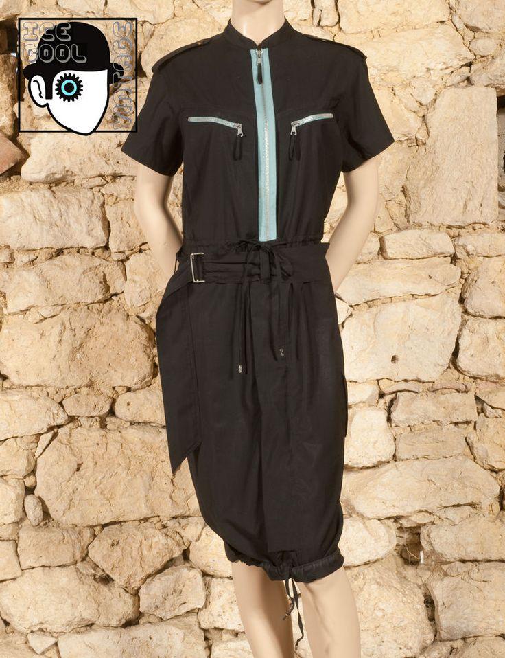 'JEAN PAUL GAULTIER - FEMME' 90s DRESS  - UK 12 - (Z)