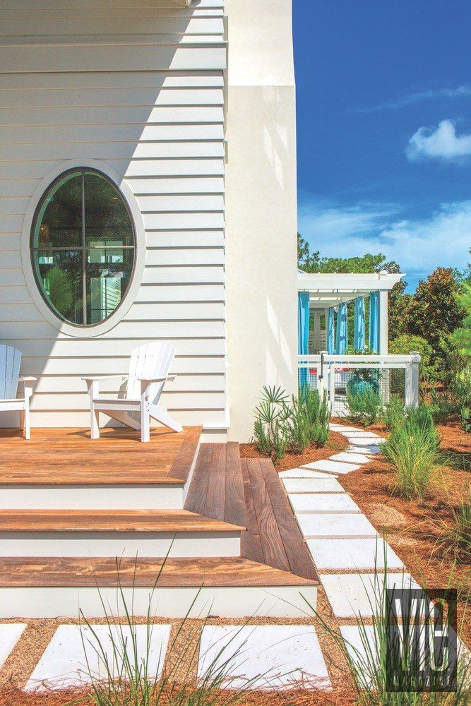 Vie Magazine Maison De Vie Adirondack Chairs Courtesy Of Bay Breeze Patio  Windows By New View