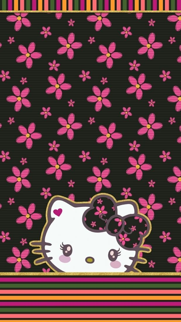 Iphone Wall Hk Tjn Hello Kitty Backgrounds Hello Kitty With Regard