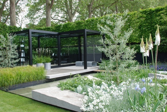 glass garden house