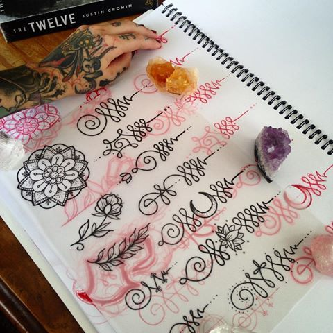 Trying, starting over ✨ #unalome #unalomes #enlightenment #moon #crescent #crescentmoon #flowers #flower  #lotus #dots #mandala #henna #hennatattoo #crystal #crystals #spiritual #spirituality #tattoo #tattoos #tattooart #tattooflash #flash #flashart #art #artist