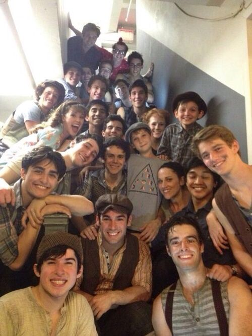 Newsies, there's like 500 hundred of these punks...and I adore every single one.