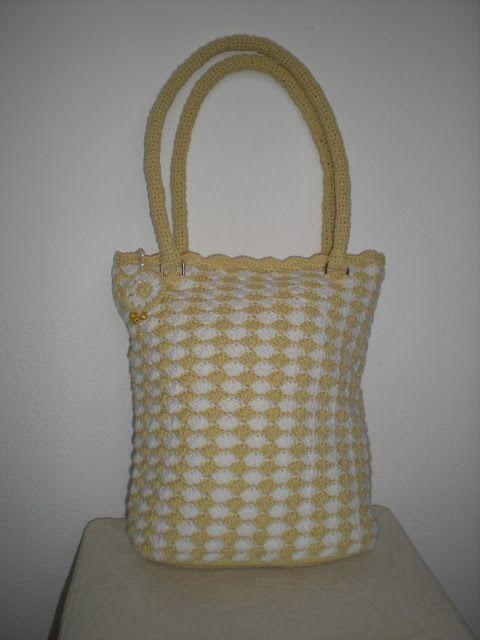 EmmHouse: Autumn shell purse with zipper charm