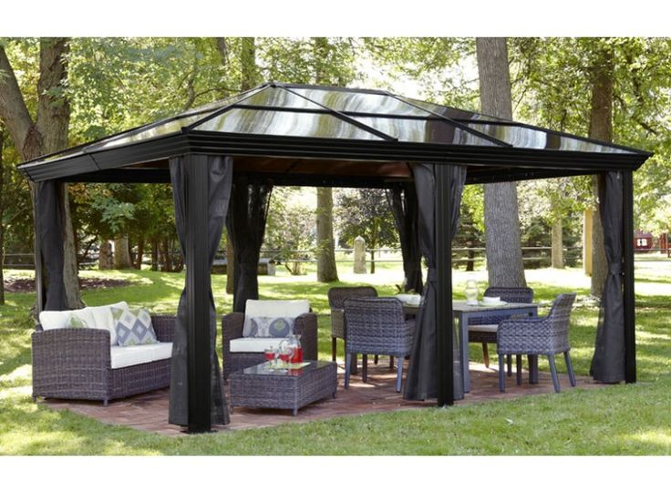Polycarbonate Roof Gazebo Review & Buying Guide :http://www.poshgarden.co.uk/polycarbonate-roof-gazebo-review/