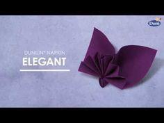 Pliage de serviettes pour toutes les occasions   Duni
