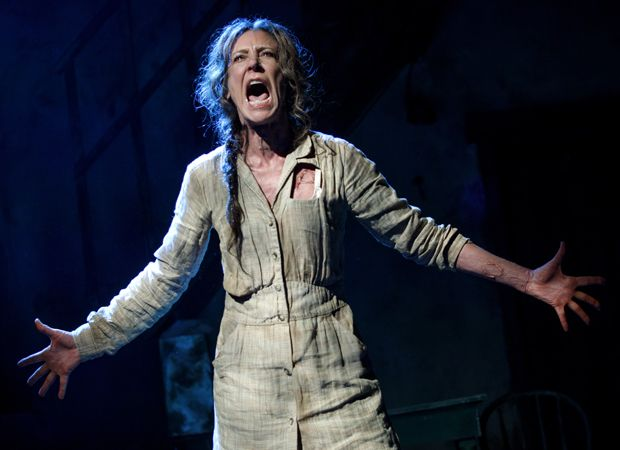 Christine Lahti in Suzan-Lori Parks's F**king A at the Pershing Square Signature Center.